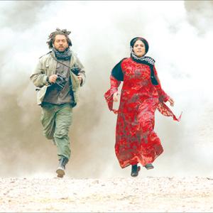 بهرام رادان و شیلان رحمانی در فیلم حکایت عاشقی
