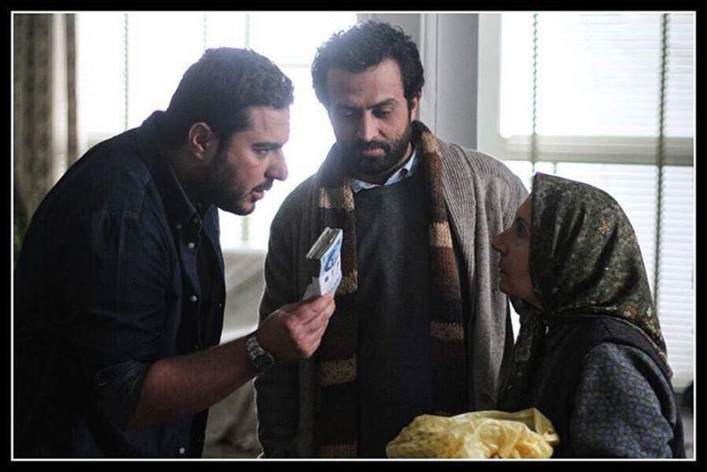 شیرین یزدان بخش، مصطفی زمانی و محسن کیایی در فیلم «یک روز بخصوص»