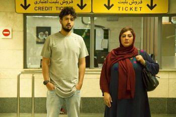 زهرا داوودنژاد و مهرداد صدیقیان در فیلم «شماره 17 سهیلا»