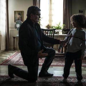 آرتین گلچین و جمشید هاشم پور در فیلم «سرکوب»