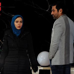 لیلا اوتادی و امین زندگانی در فیلم «نازلی»