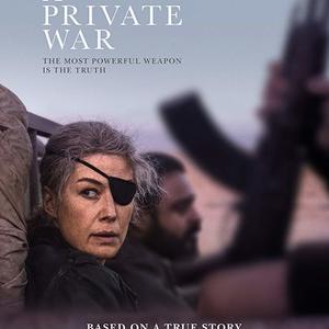 پوستر فیلم سینمایی «جنگ خصوصی» (A Private War)
