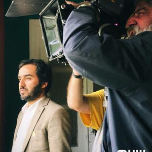 سجاد افشاریان در پشت صحنه سریال «نجوا»