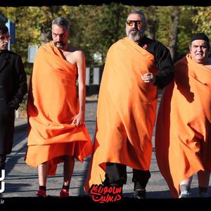 حمید فرخ نژاد، میرطاهر مظلومی، امیرمهدی ژوله و سامان صفاری در فیلم «سامورایی در برلین»