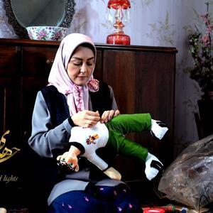 شقایق فراهانی در فیلم «چراغ های ناتمام» ساخته مصطفی سلطانی