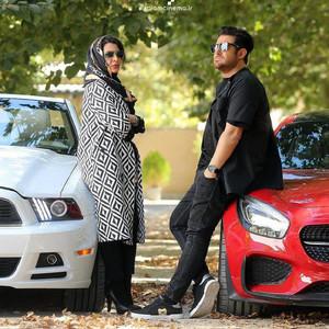 ساره بیات و محمدرضا گلزار در فیلم «رحمان 1400»