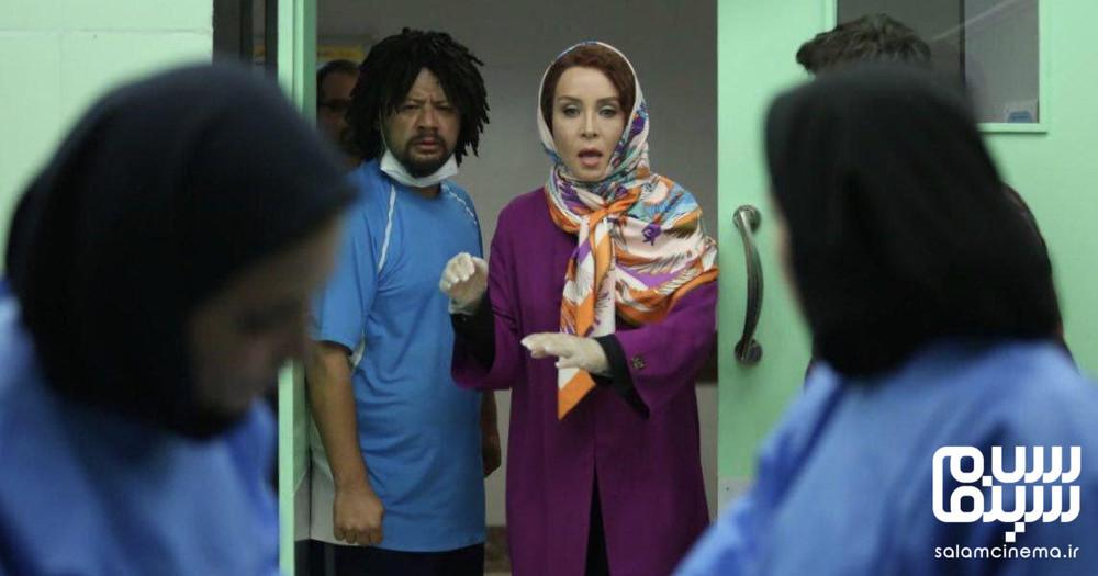 حدیث فولادوند و علی صادقی در فیلم «وای آمپول»