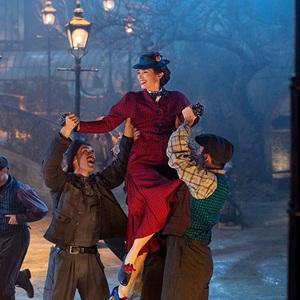 نمایی از فیلم بازگشت مری پاپینز (Mary Poppins Returns) با بازی امیلی بلانت