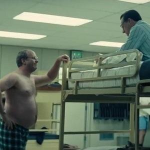 کریستین بل و استیو کارل در نمایی از فیلم سینمایی «معاون» (Vice)