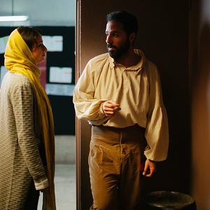 محمد خاکستری و ندا جبرائیلی در فیلم کوتاه «رورانس»