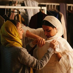 نسرین درخشان زاده و ندا جبرائیلی در فیلم کوتاه «رورانس»