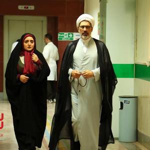 فرهاد جم و نرگس محمدی در سریال «ستایش 3»