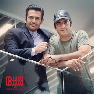 محمدرضا گلزار و منوچهر هادی در پشت صحنه فیلم «رحمان 1400»