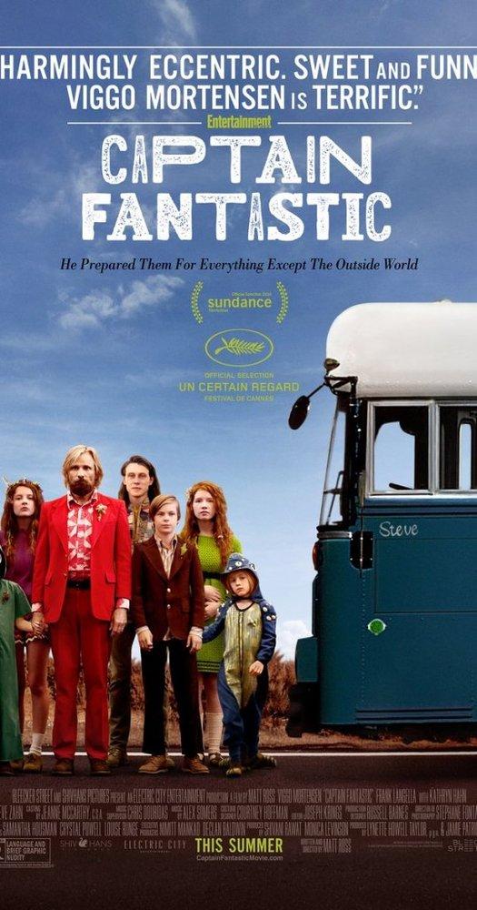 پوستر فیلم «کاپیتان خارق العاده»(Captain Fantastic)