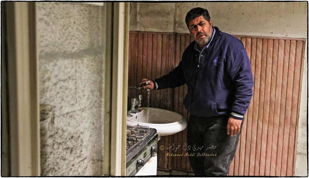فرهاد اصلانی در نمایی از فیلم «ماجان» ساخته رحمان سیفی آزاد