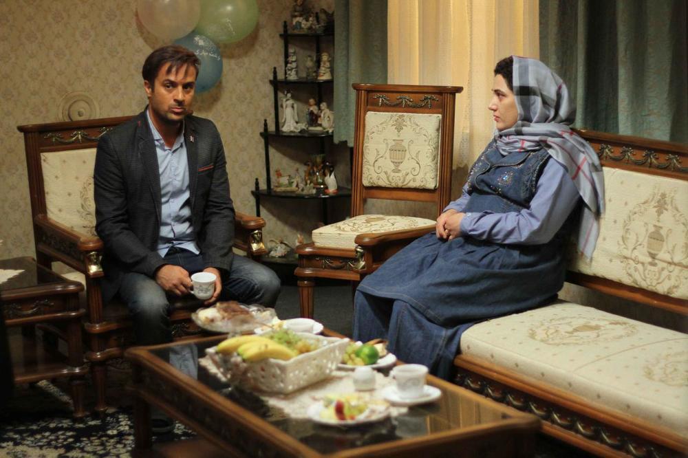 احمد مهران فر در نمایی از فیلم «هفت ماهگی»