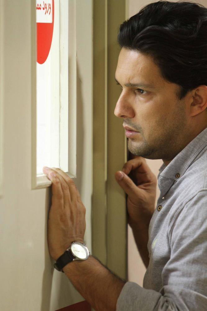 نمایی از فیلم سینمایی «هفت ماهگی» با بازی حامد بهداد