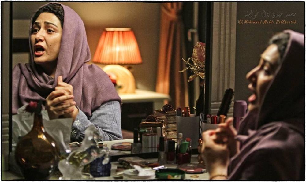 نمایی از فیلم سینمایی «هفت ماهگی» با بازی باران کوثری
