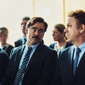 کالین فارل و جان سی ریلی در فیلم «خرچنگ»(the lobster)