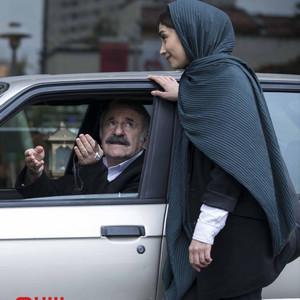 دیبا زاهدی و مهران رجبی در فیلم «تیغ و ترمه»
