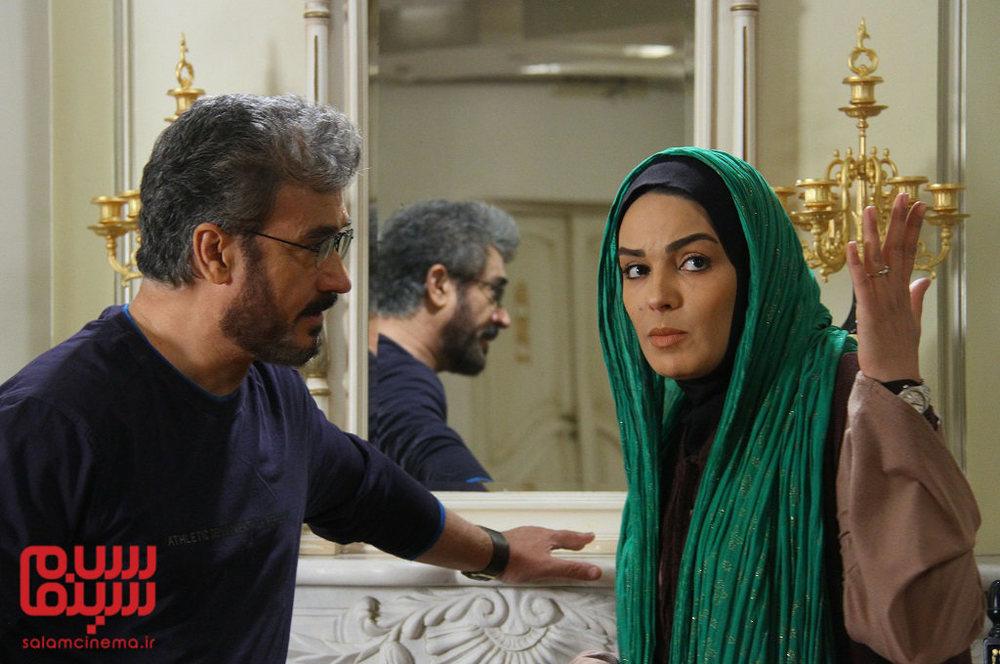 سارا خوئینی ها و محمد صادقی در سریال «بی قرار»