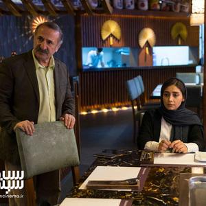 دیبا زاهدی و مهران رجبی در فیلم سینمایی «تیغ و ترمه»