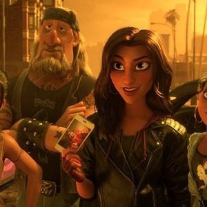 گل گدوت در انیمیشن سینمایی «رالف اینترنت را خراب می کند» (Ralph Breaks the Internet)