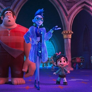 تراجی پی.هنسون، جان سی ریلی و سارا سیلورمن در انیمیشن سینمایی «رالف اینترنت را خراب می کند» (Ralph Breaks the Internet)