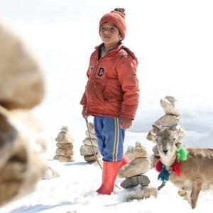 امیررضا فرامرزی در فیلم «اسکی باز»