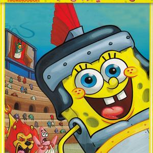 پوستر «باب اسفنجی - گلادیاتور می شود»
