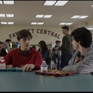 جک دیلان گریزر و آشر انجل در فیلم سینمایی «شزم» (Shazam)