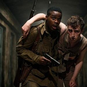 جوان ادپو و دامینیک اپل وایت در فیلم سینمایی «ارباب» (Overlord)