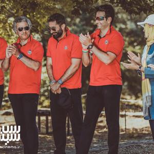 محمدرضا هدایتی، هادی کاظمی، کامبیز دیرباز و امیرحسین آرمان در قسمت 7 مسابقه «13 شمالی»