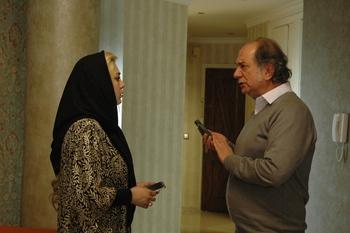 سحر قریشی و آتیلا پسیانی در فیلم «کارگر ساده نیازمندیم»