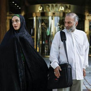حمیدرضا آذرنگ و میترا حجار در فیلم «دعوتنامه»