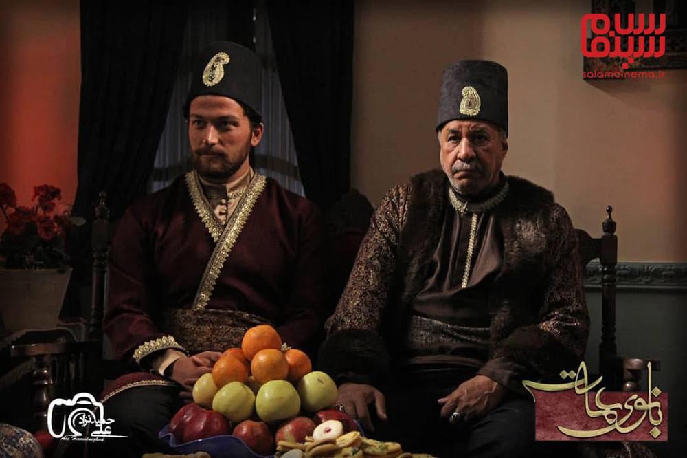 میلاد میرزایی و محمد فیلی در سریال «بانوی عمارت»
