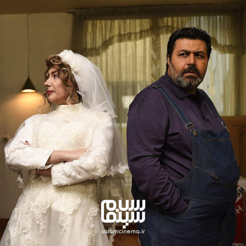 هانیه توسلی و فرهاد اصلانی در فیلم «کلمبوس»