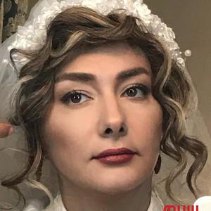هانیه توسلی در پشت صحنه فیلم «کلمبوس»