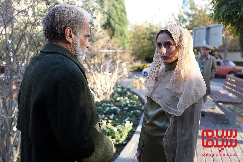 آوا درویشی و اسماعیل محرابی در فیلم «گذر موقت»