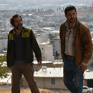 حامد بهداد و اکبر آئین در فیلم «قصر شیرین»