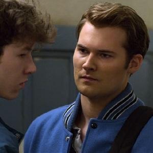 دوین درود و جاستین پرنتیس در سریال «13 دلیل برای اینکه» (13 Reasons Why)