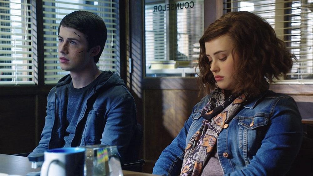 دیلان مینت و کاترین لانگفورد در سریال «13 دلیل برای اینکه» (13 Reasons Why)