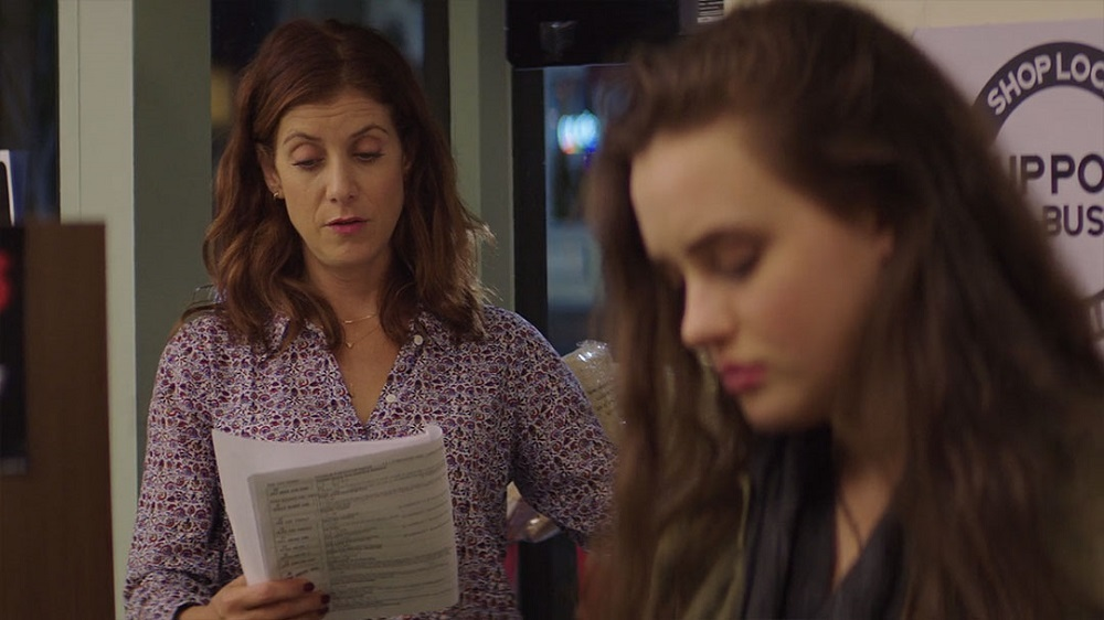 کیت والش و کاترین لانگفورد در سریال «13 دلیل برای اینکه» (13 Reasons Why)