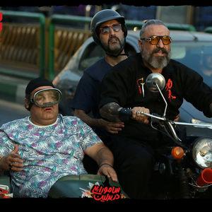 حمید فرخ نژاد، میرطاهر مظلومی و امیرمهدی ژوله در فیلم «سامورایی در برلین»