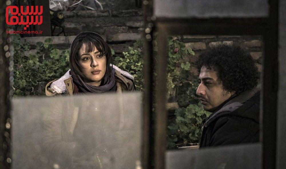 میترا رفیع و عرفان ابراهیمی در فیلم «کلمبوس»