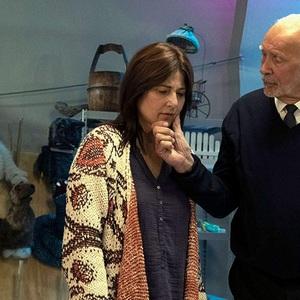 کاترین کینر و فرانک لانگلا در سریال «شوخی» (Kidding)