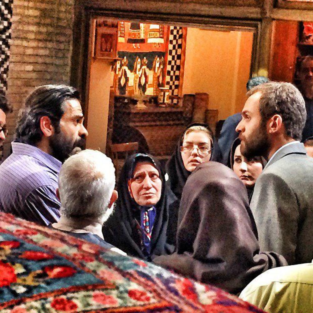 بانیپال شومون و بابک حمیدیان در فیلم «خانواده فرشچی»