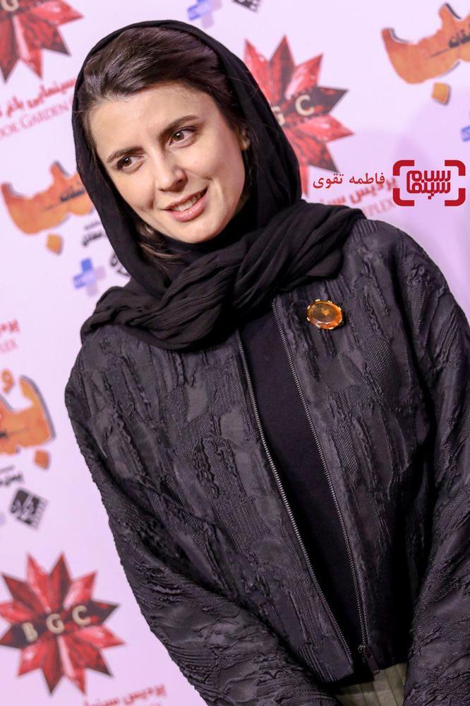 لیلا حاتمی در اکران مردمی فیلم «بمب یک عاشقانه» در سینما باغ کتاب
