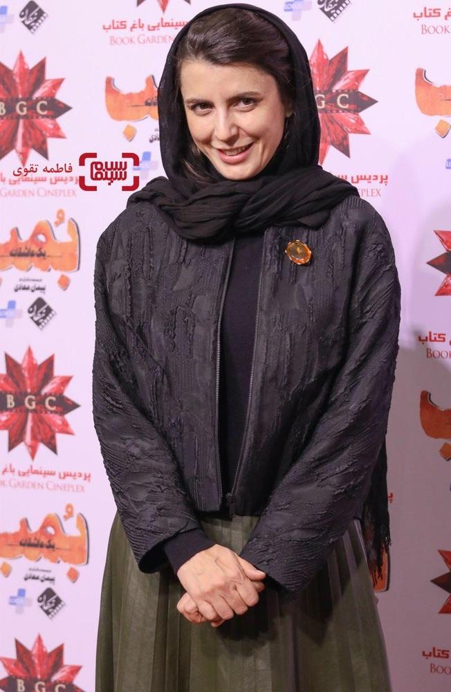 لیلا حاتمی در اکران مردمی فیلم «بمب یک عاشقانه» در باغ کتاب