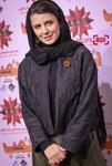 لیلا حاتمی در اکران مردمی فیلم سینمایی «بمب یک عاشقانه» در باغ کتاب